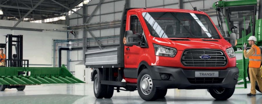 Transit Single Cab Tipper